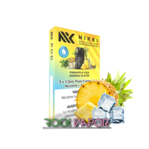 NIKKI PODS - 3 PACK - PINEAPPLE ICED