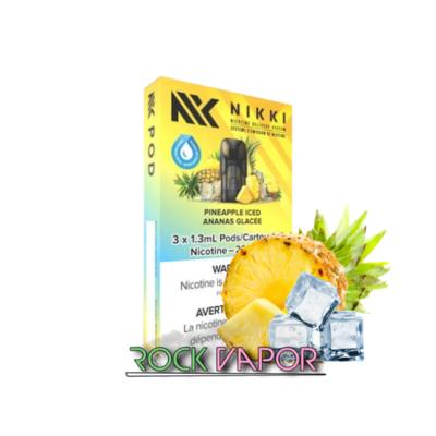 NIKKI PODS - 3 PACK - PINEAPPLE ICED 20mg