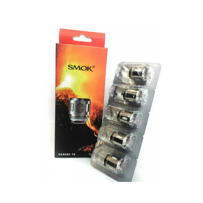 SMOK SMOK TFV8 BABY BEAST COILS - 5 PACK (CLEARANCE)