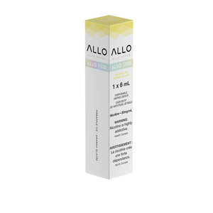 ALLO 1500 DISPOSABLE - PINEAPPLE ICE