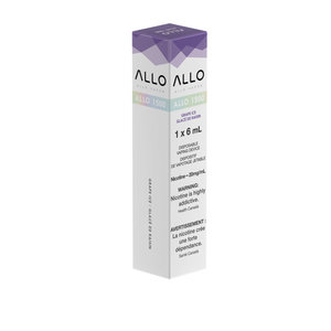 ALLO 1500 DISPOSABLE - GRAPE ICE