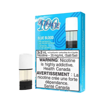 STLTH PODS - 3 PACK - ULTIMATE 100 BLUE BLOOD (CLEARANCE)
