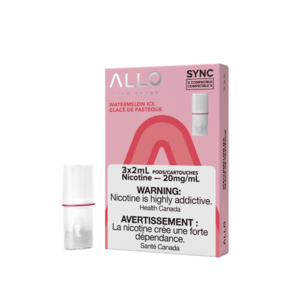 ALLO SYNC POD PACK - WATERMELON ICE - 3 PACK