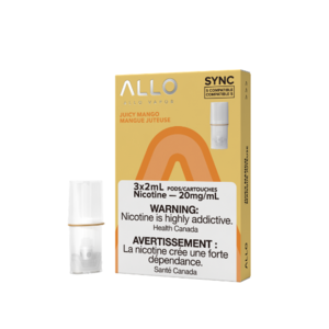 ALLO SYNC POD PACK - JUICY MANGO - 3 PACK