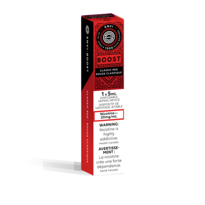 ENVI BOOST DISPOSABLE - CLASSIC RED 20mg