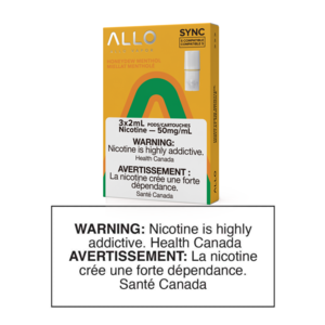 ALLO SYNC POD PACK - HONEYDEW MENTHOL - 3 PACK