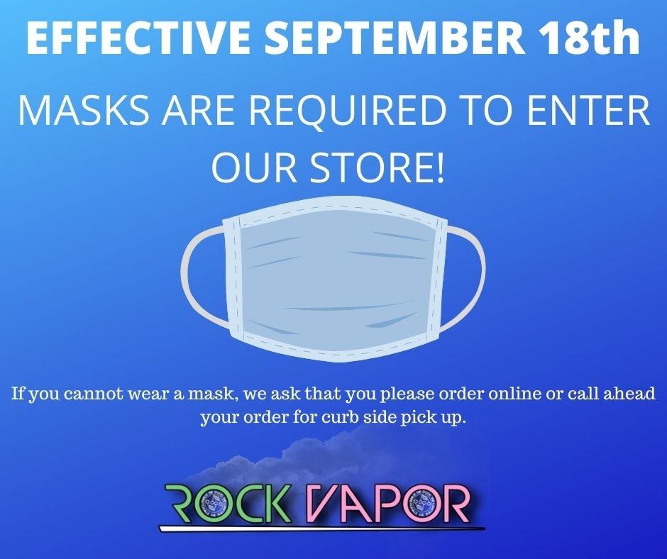 Rock Vapor Incorporated banner 1