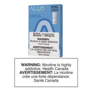 ALLO SYNC POD PACK - BLUEBERRY ICE - 3 PACK