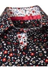 IZAC & ADAM IZAC & ADAM - Navy Flowers Shirt - Paoliti2-29FA001-1