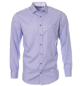 CASAMODA CASAMODA - Purple Woven Dress Shirt