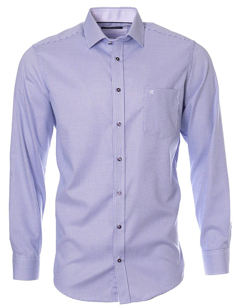 CASAMODA CASAMODA - Purple Woven Dress Shirt - 383033600