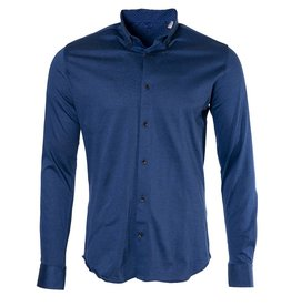 Marco Marco - Stretch Jersey Shirt - Blue
