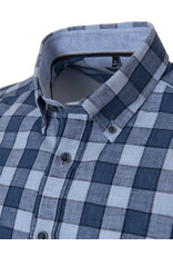 CASAMODA Casamoda - Blue Check Shirt - 493157000