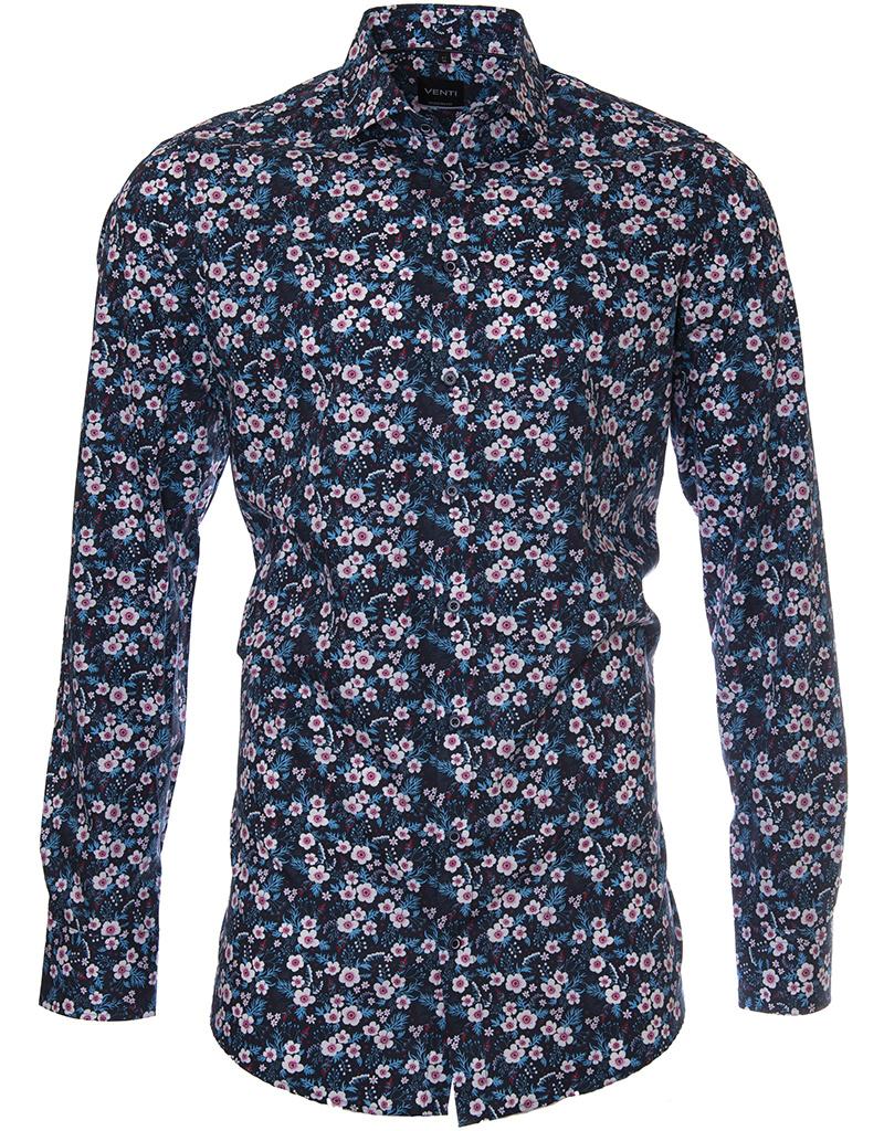Venti Venti - Navy Summer Shirt - 193148902