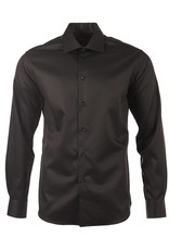 Polifroni BLU Semi-Fitted Shirt in Black by BLU from Polifroni