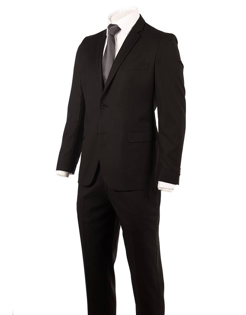 Delahaye London Collection Delahaye London Collection Slim Suit in Black Rio Cut