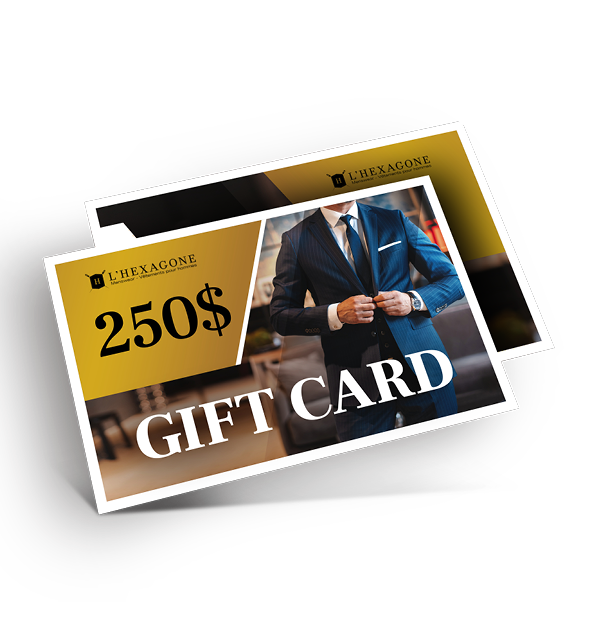 Gift Card - 250$