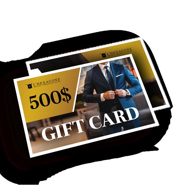 Gift Card - 500$