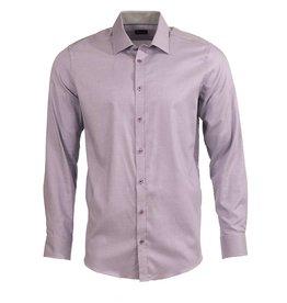 Venti Venti Fitted Purple Dress Shirt