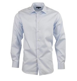 Polifroni BLU Semi-Fitted Shirt in Blue by BLU from Polifroni