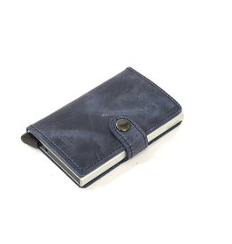 Secrid Secrid Leather Wallet - Vintage Blue