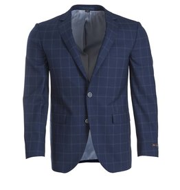 Paul Betenly Paul Betenly- Blue Window Pane Sport Jacket