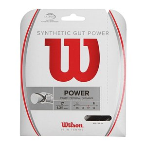 SYNTHETIC GUT POWER 17 - BLACK