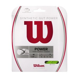 Wilson SYNTHETIC GUT POWER 16 - LIME