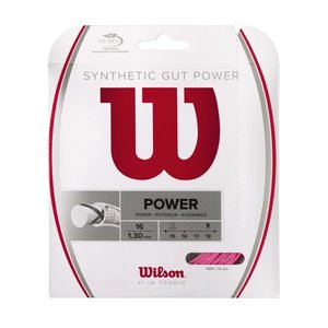 Wilson SYNTHETIC GUT POWER 16 - PINK