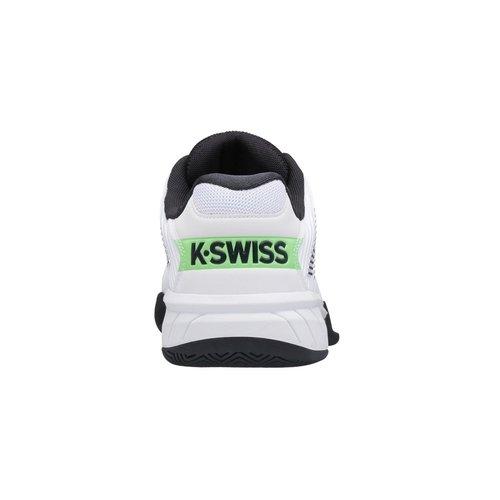 K-Swiss Hypercourt Express 2 White/BlueGraphite/SoftNeon