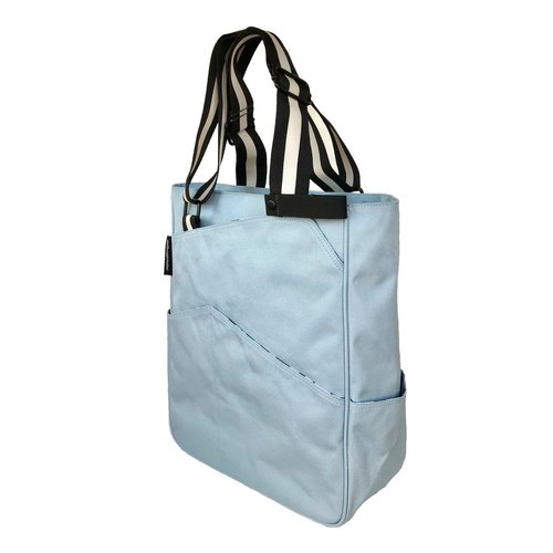 Maggie Mather Tennis Tote Sky