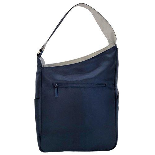 Maggie Mather Shoulder Bag Navy/Silver