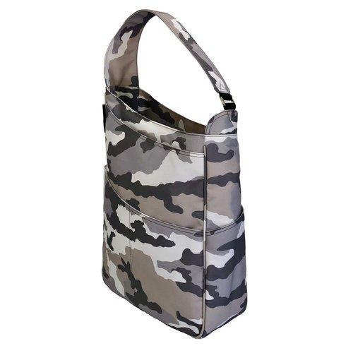 Maggie Mather Shoulder Bag Grey Camo