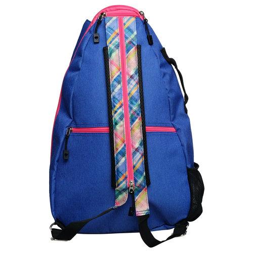 GloveIt GloveIt Backpack Plaid Sorbet