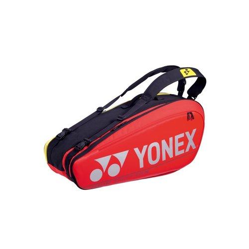 Yonex Pro Racquet Bag 6pk Red