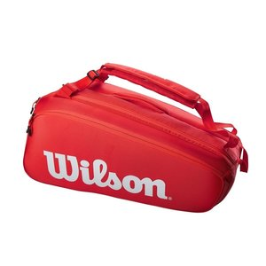 Wilson Super Tour 9 Pack Red