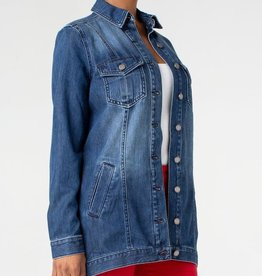 LIVERPOOL LIVERPOOL LONG DENIM JACKET