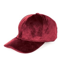 COCO & CARMAN COCO+CARMEN RED VELVET BASEBALL HAT
