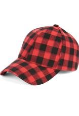 COCO & CARMAN COCO+CARMEN RED VELVET BASEBALL HAT