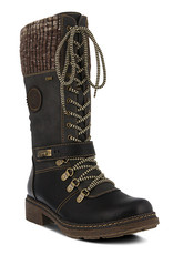 SPRING FOOTWEAR ABABI LACE UP BOOT BY SPRINGSTEP