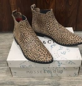MUSSE AND CLOUD KELIS LEOPARD BOOTIE