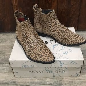 MUSSE AND CLOUD KELIS LEOPARD BOOTIE BY MUSSE & CLOUD
