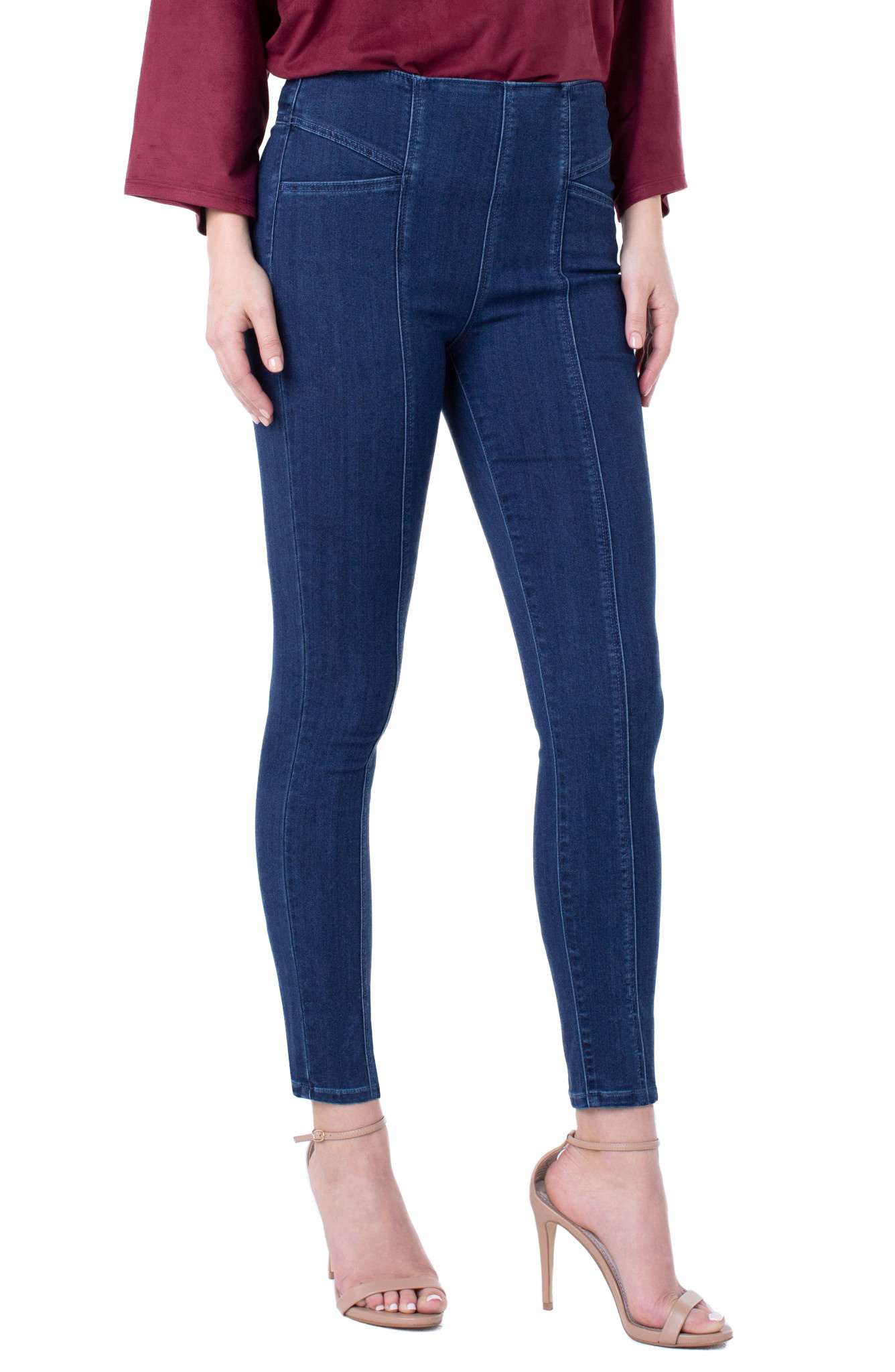 LIVERPOOL LIVERPOOL REESE HIGH RISE SKINNY ANKLE