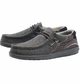 HEY DUDE HEYDUDE WALLY HAWK WOOL LT GREY