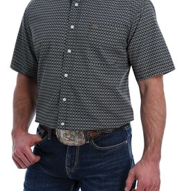 CINCH CINCH SHORT SLEEVED SHIRT BLACK PRINT