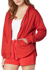 LIVERPOOL LIVERPOOL RELAX FIT  KNIT HOODIE JACKET