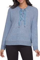 TRIBAL TRIBAL SWTR W. LACE-UP NK