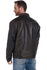 CRIPPLE CREEK CRIPPLE CREEK LEATHER CONCEAL CARRY  JACKET ANTIQUE CHOC