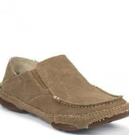 TONY LAMA TONY LAMA RR3025 MENS CANVAS SLIP ON