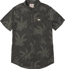RVCA RVCA HAWAIIAN BUTTON UP - PIRATE BLACK